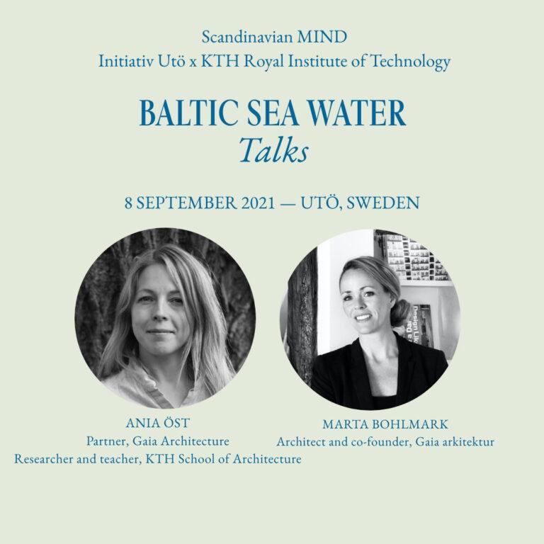 Baltic sea water talks